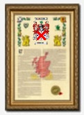 Armorial History with Frame