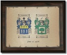 Coat of Arms Anniversary Plaque